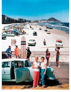 """Collage """"Beach Parking"""" by..."""