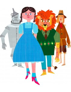 """Illustration """"Oz"""" by Mikel..."""