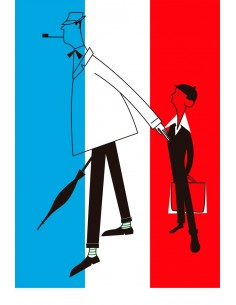 """Illustration """"Mon Oncle"""" by..."""