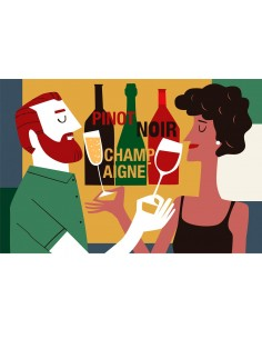 """Illustration """"Cheers"""" by..."""