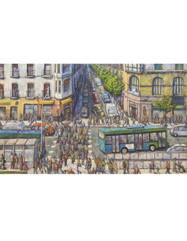"Illustration ""El Boulevard"" by..."