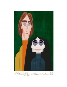 "Illustration ""John Lennon y..."
