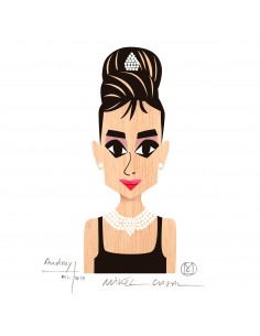 "Illustration ""Audrey"" by..."