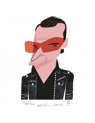 """Illustration """"Bono"""" by Mikel Casal...."""