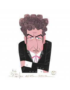 "Illustration ""Bob Dylan"" by..."