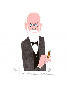 "Illustration ""Freud"" by..."