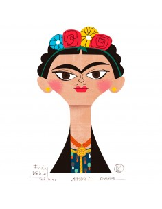 "Illustration ""Frida"" by..."