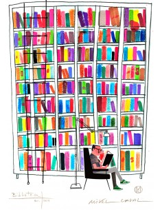"Illustration ""Biblioteca 2""..."