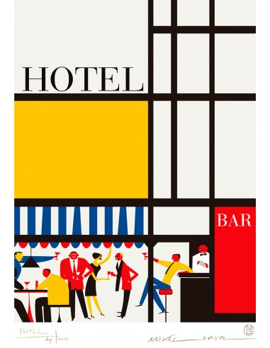 """Illustration """"Hotel"""" by Mikel Casal...."""