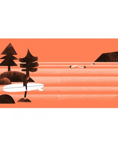 """Illustration """"Lines"""" by Mikel Casal...."""