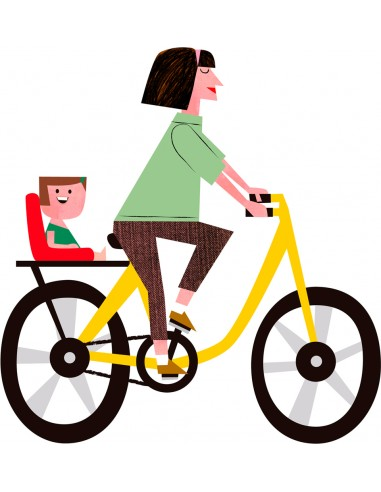 "Illustration ""De paseo con ama""..."