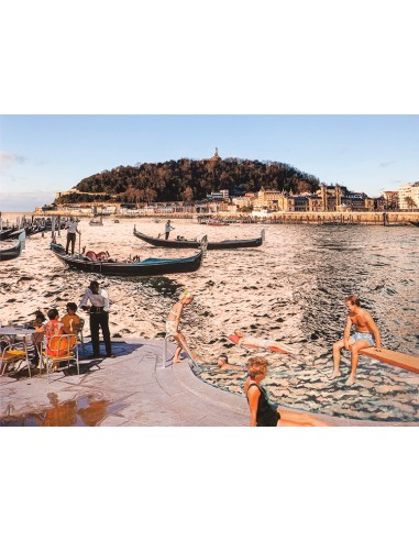 """Collage """"Donosti venecianal"""" by..."""