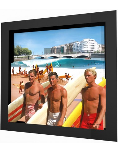 """""""Wednesday"""" framed 3d collage by Malone"""