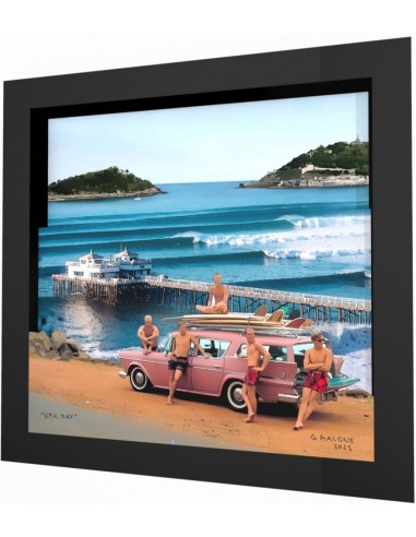 """Epic day"" framed 3d collage by Malone"
