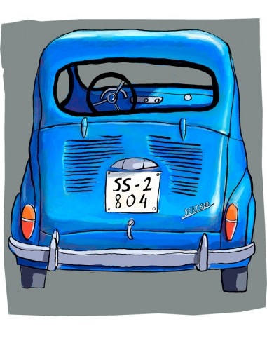 """Illustration """"Seat 600"""" by Roskow. A4..."""