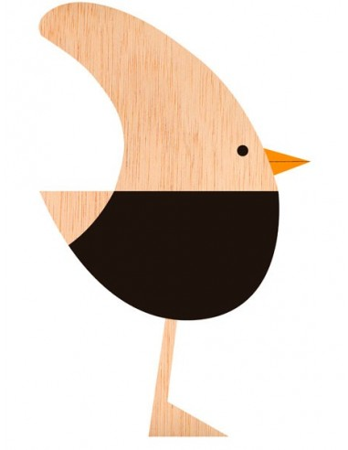 """Illustration """"Single Bird"""" by Mikel..."""