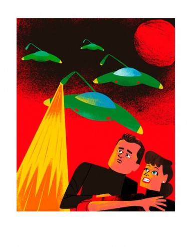 "Illustration ""War of the Worlds"" by..."
