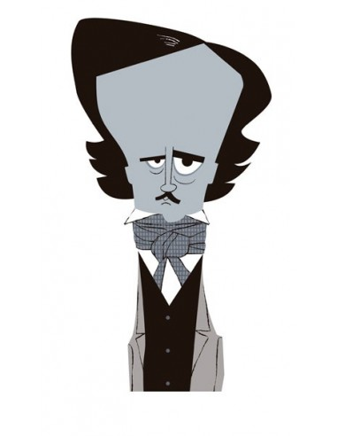 """Illustration """"Poe"""" by Mikel Casal...."""