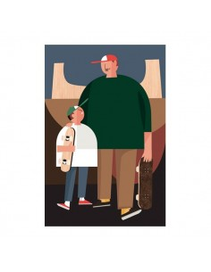 "Illustration ""Dad"" by Mikel..."