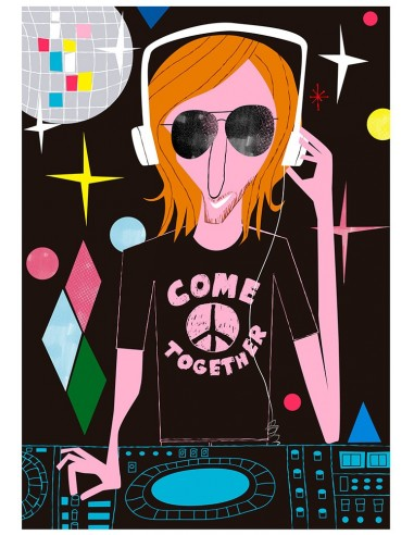 """Illustration """"David Guetta"""" by Mikel..."""